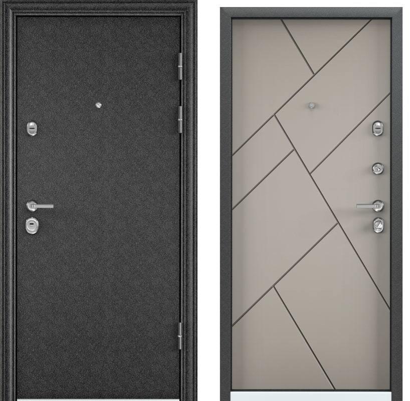 Входные двери Torex Ultimatum M чёрный шёлк KB-35 кремовый ликёр generated_image-3.jpg
