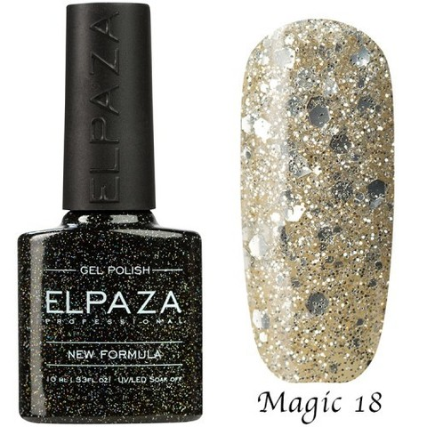 Гель лак Elpaza Magic, ДИАДЕМА 18