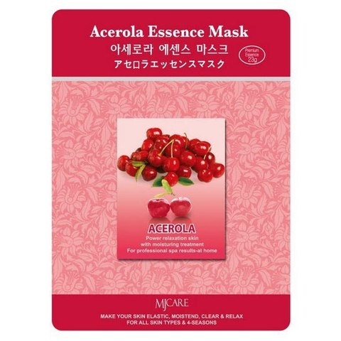 MIJIN Маска тканевая ацерола Acerola Essence Mask