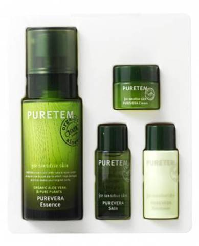 WELCOS Puretem Набор с экстрактом алоэ вера Puretem Purevera Essence Set