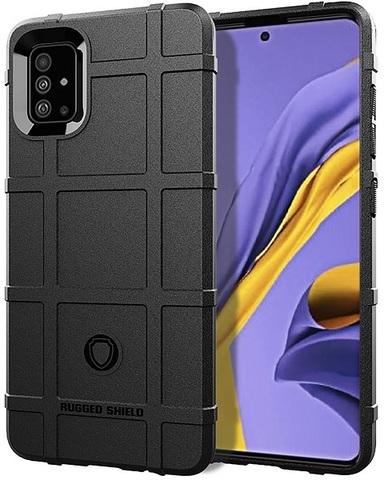 Чехол Samsung Galaxy A51 (M40S) цвет Black (черный), серия Armor, Caseport