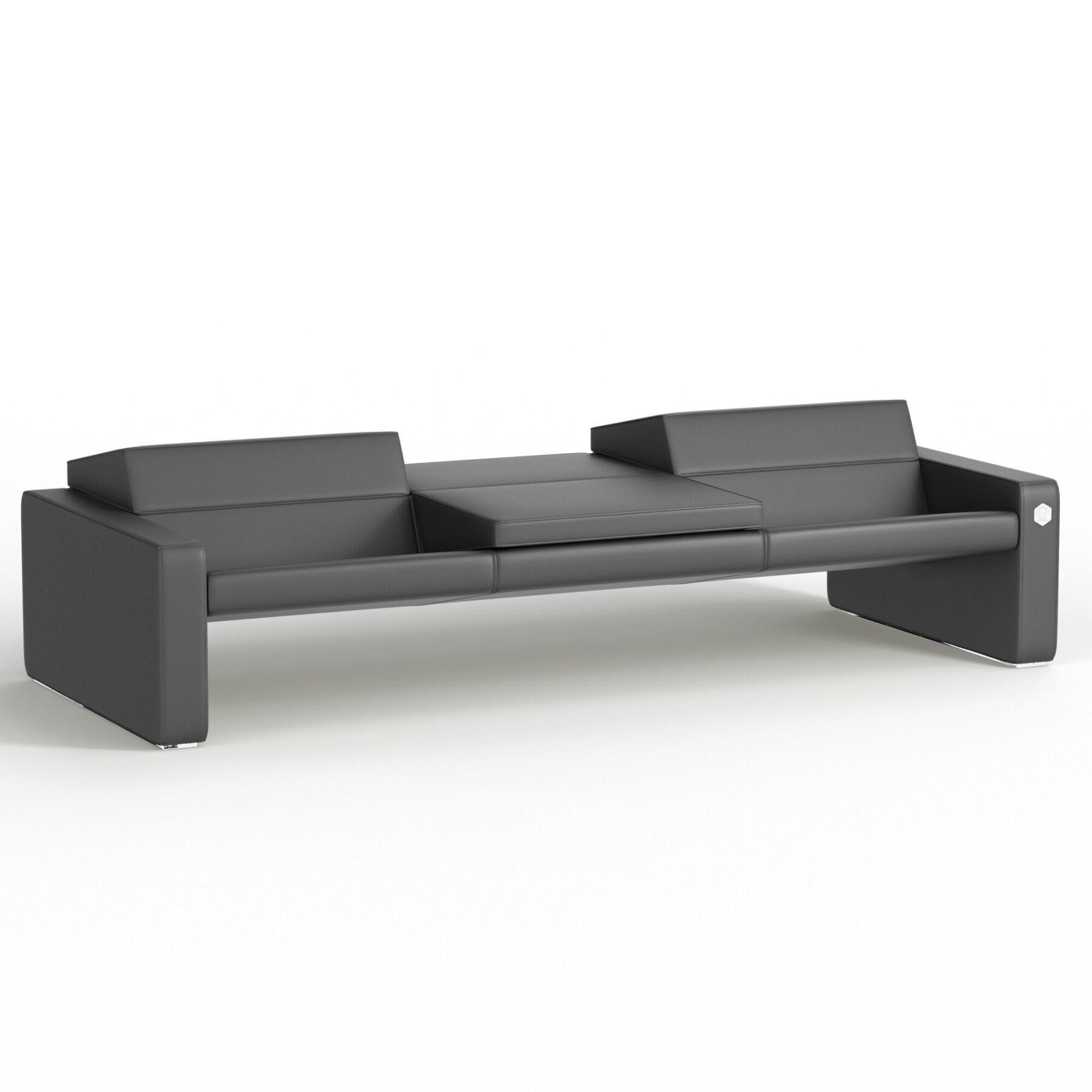 Трехместный диван KULIK SYSTEM SMART Кожа 3