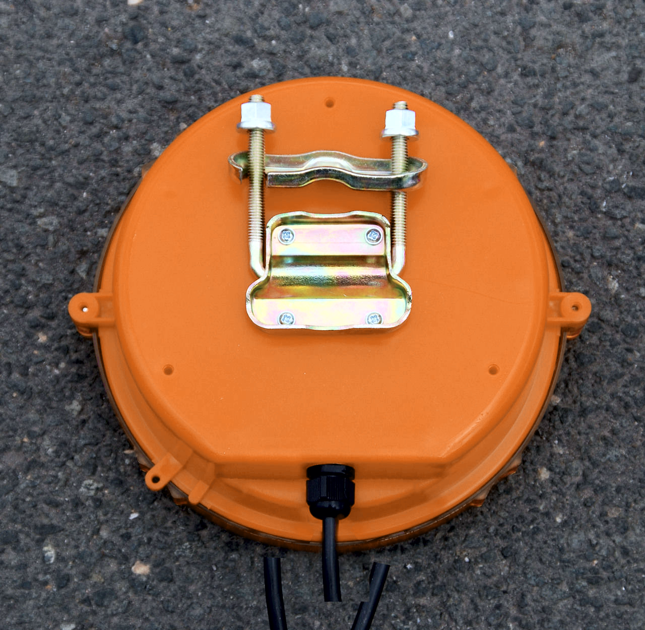 Обратная сторона предупреждающей лампы светодиодной RS 2000 LED 4D