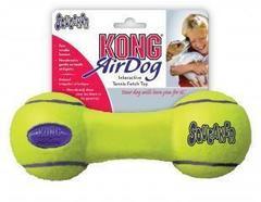 """Игрушка для собак KONG Air """"Гантель"""" средняя 18 см"""