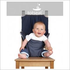 Totseat (Тотсит) дорожный стульчик для кормления деним