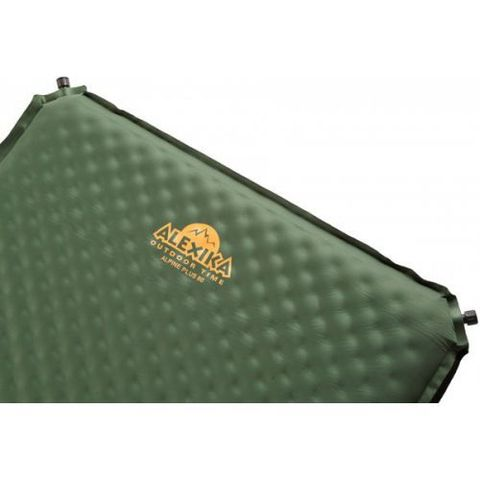 Картинка коврик Alexika ALPINE PLUS 80 pine green, 198x76x7,5 cm