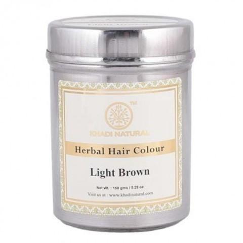 Хна для волос светло-коричневая Khadi Natural, 150 гр