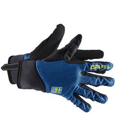 Элитные лыжные перчатки Craft Ski Team Swe Intensity Сборной Швеции