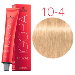 Schwarzkopf Igora Royal New 10-4 (Экстрасветлый блондин бежевый) - Краска для волос