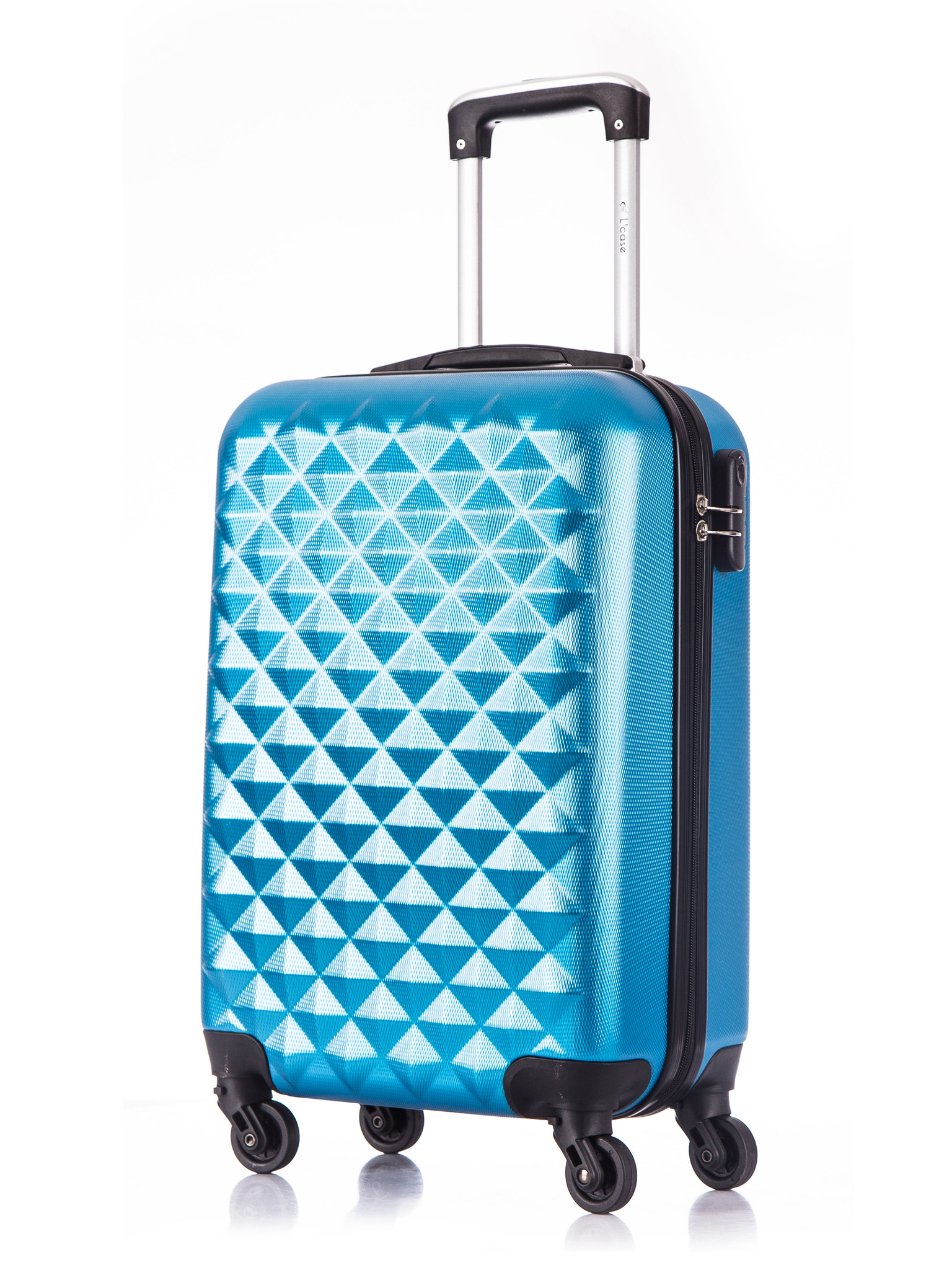 Чемодан со съемными колесами L'case Phatthaya-20 Синий ручная кладь (S)