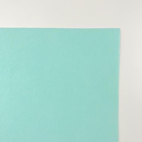 Фетр 100% полиэстэр. Цвет морской волны. Размер листа  20х30 см.