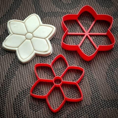 Цветок шесть лепестков