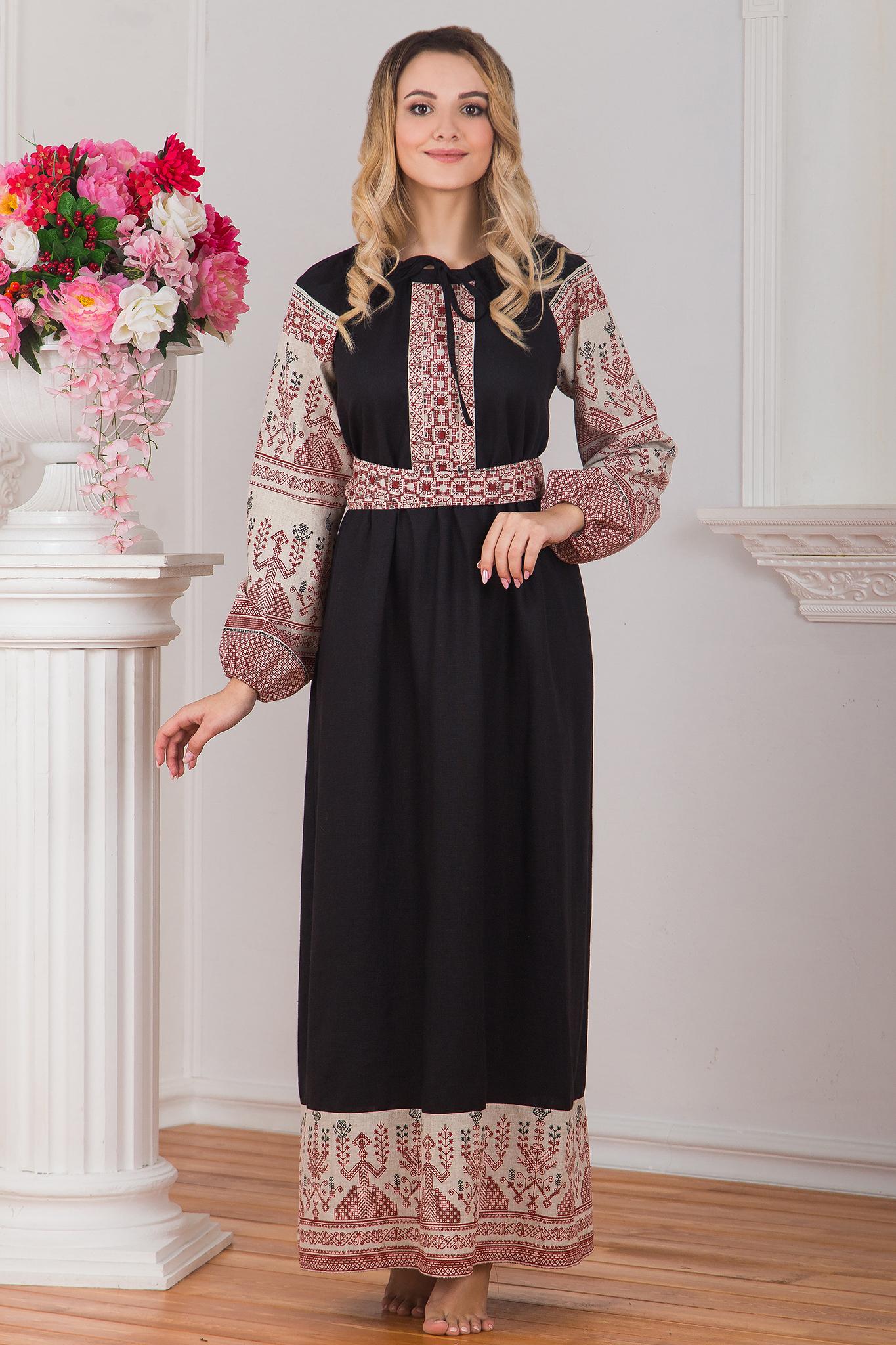 Платье Чистое поле
