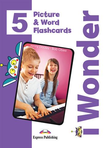 i Wonder 5 Picture and Word Flashcards - Картинки для запоминания лексики