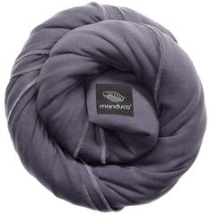 Трикотажный слинг-шарф manduca sling slate (серый)
