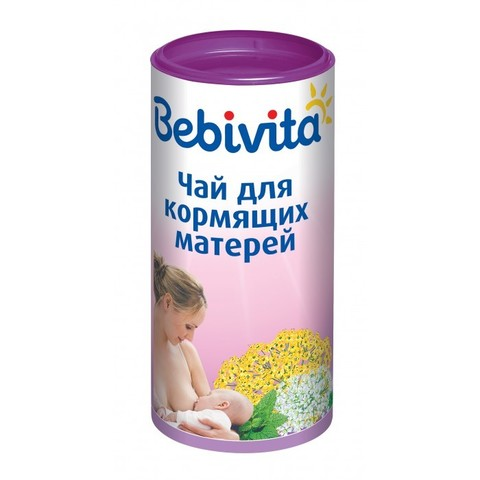 Bebivita. Чай для кормящих матерей, 200 г