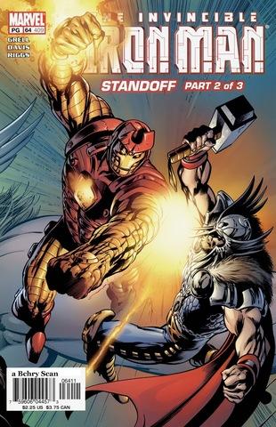Invincible Iron Man #64