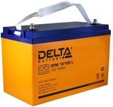 Аккумулятор DELTA DTM 12100 L ( 12V 100Ah / 12В 100Ач ) - фотография