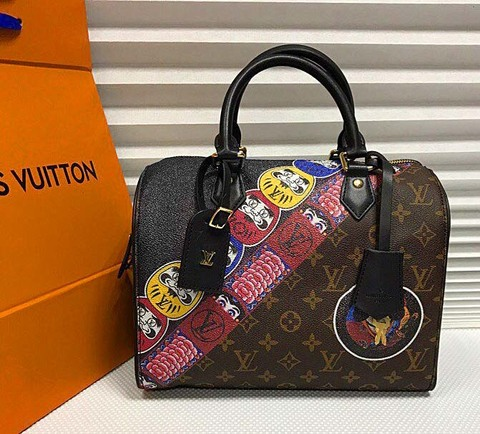 Сумка Speedy Monogram 30 Black
