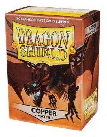 Протекторы Dragon Shield матовые Copper (100 шт.)