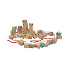 Игрушки из дерева Бусы