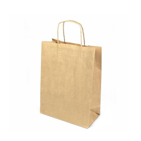 Пакет крафт с кр.руч., 250*110*320, 78 г/м2