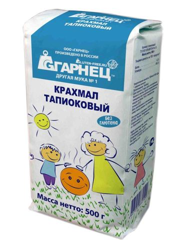 Garnec Крахмал тапиоковый 500 гр