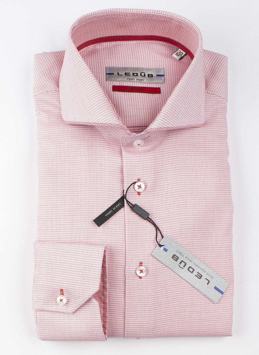 Рубашка Ledub slim fit 0137774-450-450-460