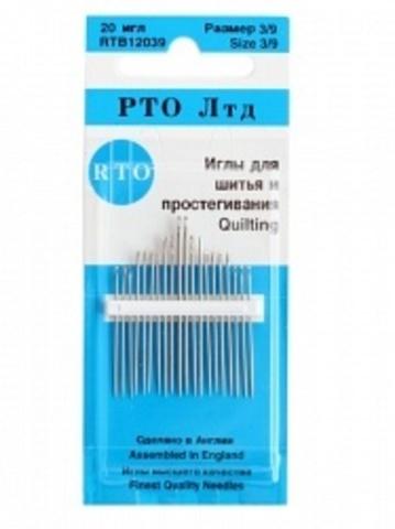 RTB Иглы для шитья и простегивания, 20 шт.