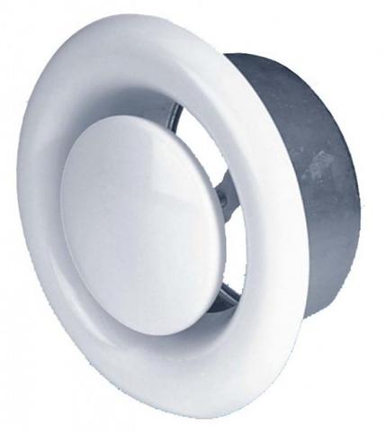 Анемостат Airone DVS 150  вытяжной стальной