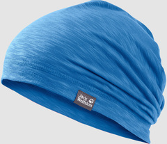 Шапка-бини Jack Wolfskin Travel Beanie Kids wave blue