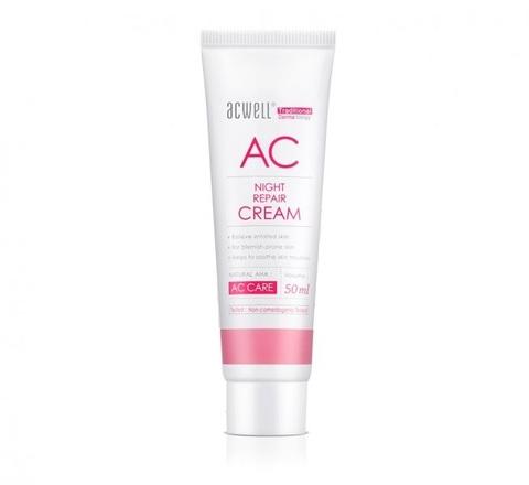 Ночной Восстанавливающий Крем ACWELL AC Night Repair Cream