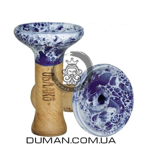 Чаша Oblako Phunnel Glaze Top (Облако) |Dark Blue White M