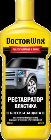 5219 Реставратор пластика  PLASTIC RESTORE & SHINE 300 мл(b), шт