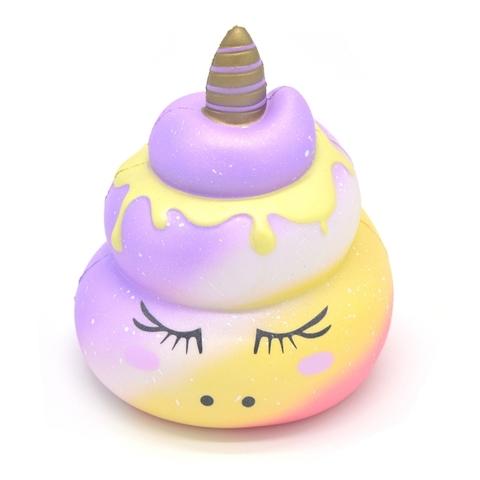 Сквиши игрушка-антистресс Kiibru Какашка Единорога