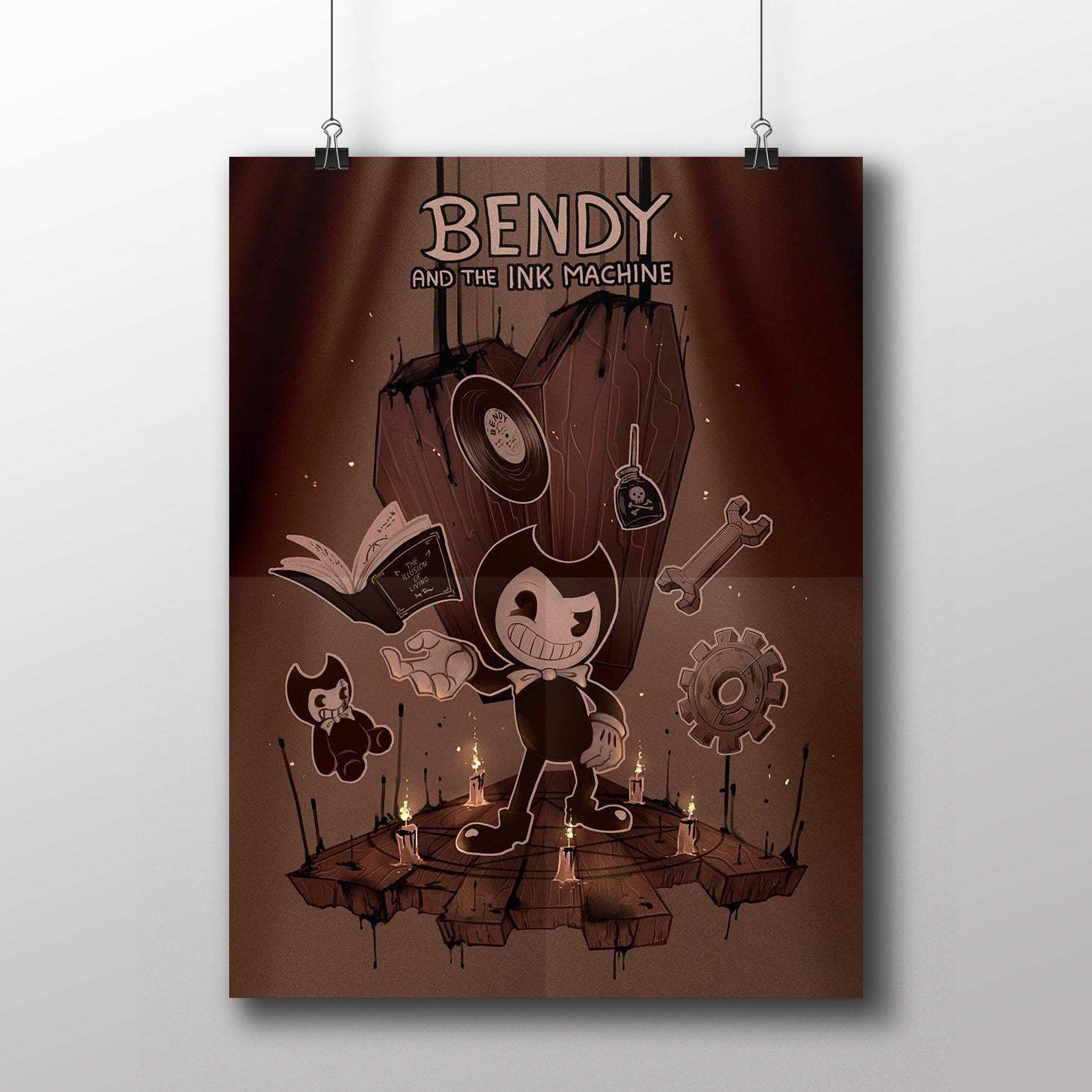 Плакат с Бенди №6 - купить в интернет-магазине kinoshop24.ru с быстрой доставкой