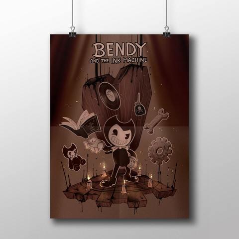 Плакат с Бенди №6
