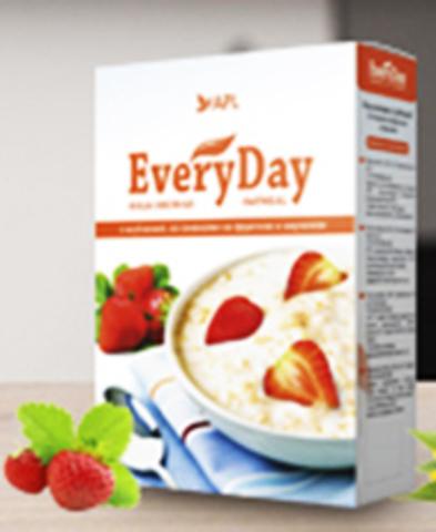 APL. Каша All-Time овсяная с клубникой, сливками и инулином 1 пакетик по 45 граммов