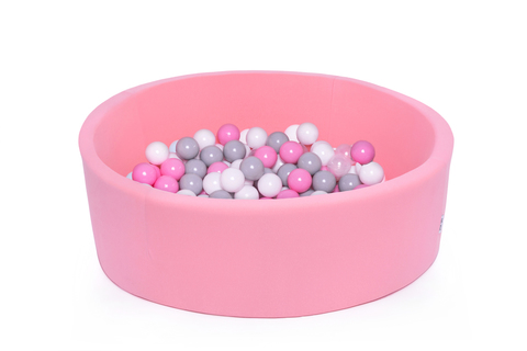 Сухой бассейн Anlipool 100/30см персик комплект №47 Tender peach