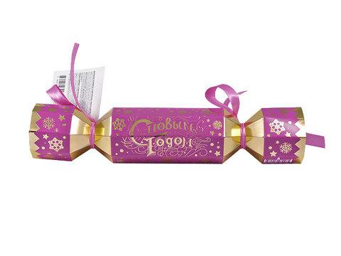 Большая новогодняя конфета Снегурочка