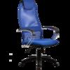 Кресло руководителя  с пластиковыми пятилучиями