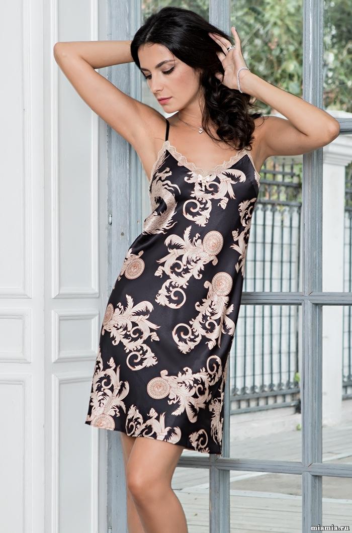 Сорочки ночные женские Сорочка женская Mia-Amore VERSACHI GOLD 9931 9931_2.jpg