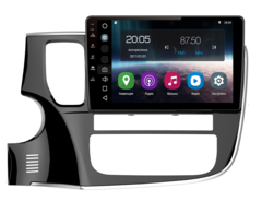 Штатная магнитола FarCar S200 для Mitsubishi Outlander 12+ на Android (V1006R-DSP)