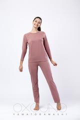 Комплект лонгслив/брюки:жен. МОДЕЛЬ 1