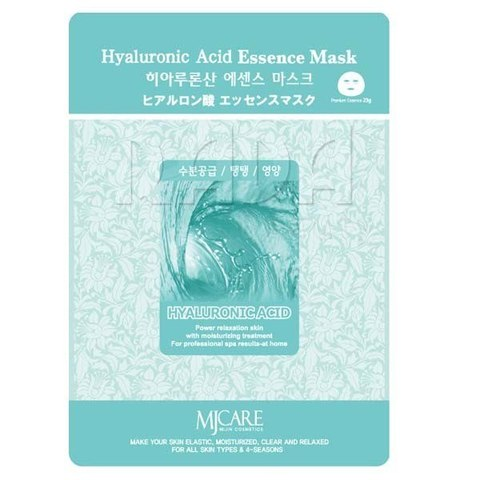 MIJIN Essence Маска тканевая гиалуроновая кислота Hyaluronic Acid Essence Mask