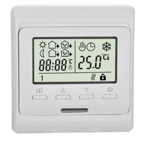 Терморегулятор для теплого пола Eastec (ИСТЭК) E51.716 Цвет: Белый. EASTEC E 51.716