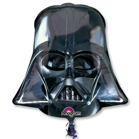Фольгированный шар «Звездные Войны Шлем Вейдера», 109 см