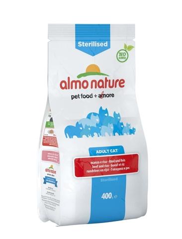 Сухой корм Almo Nature Functional Adult Sterilised Beef and Rice