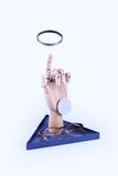 Органайзер для украшений The Hand серый Doiy DYHANDDGR | Купить в Москве, СПб и с доставкой по всей России | Интернет магазин www.Kitchen-Devices.ru