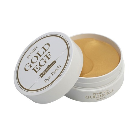 Гидрогелевые патчи Petitfee Premium Gold & EGF Eye Patch
